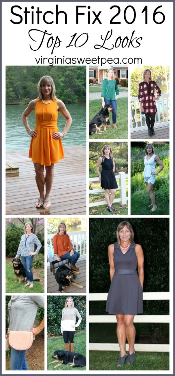 Stitch Fix 2016 - Top 10 Looks - virginiasweetpea.com