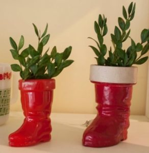 Vintage Christmas - Santa Boot Collection