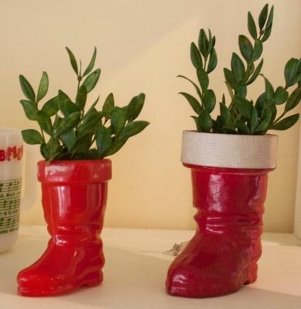 Vintage Christmas - Santa Boot Collection