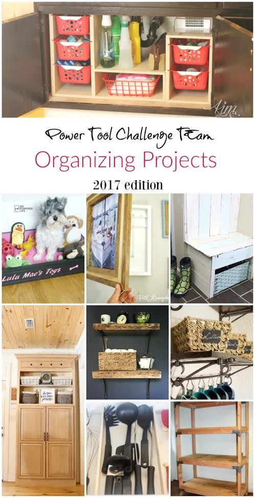 9 DIY Organizing Projects That You Can Make - Great projects for organizing your home. virginiasweetpea.com