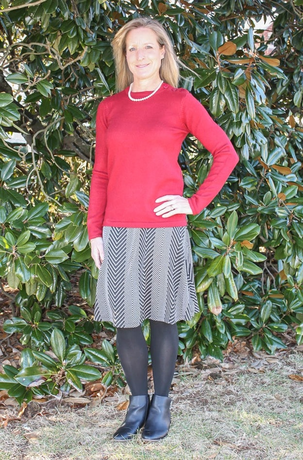 Stitch Fix Review January 2017 | RD Style Harrie Button Detail Pullover | virginiasweetpea.com