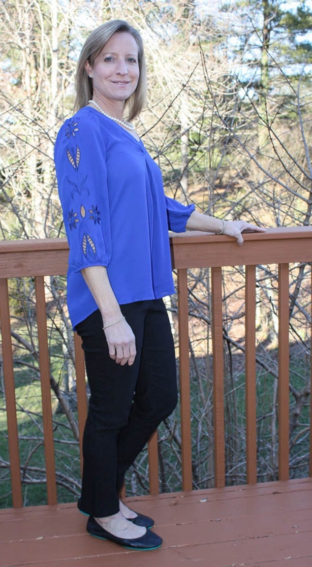 Stitch Fix Review January 2017 | BRIXON IVY Elmar Embroidered Cutout Blouse | virginiasweetpea.com