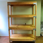 DIY 2×4 Shelving Unit