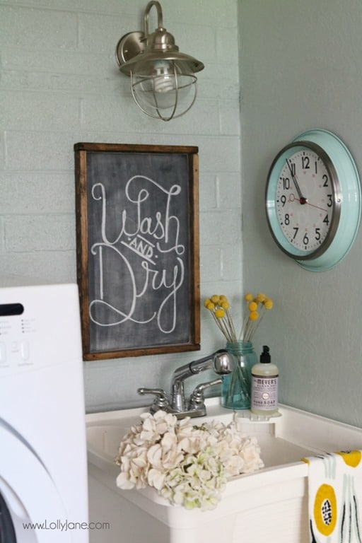 DIY-Laundry-Room-On-A-Budget