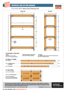 Simpson Strong Tie Shelving Unit Plans