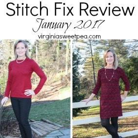 Stitch Fix Review for January 2017 -virginiasweetpea.com