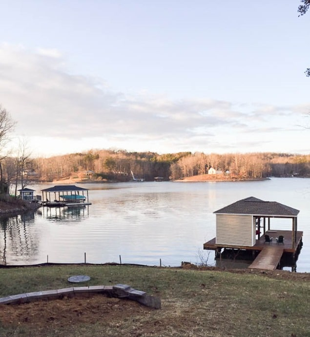 Smith Mountain Lake House Update - January 2017 - virginiasweetpea.com