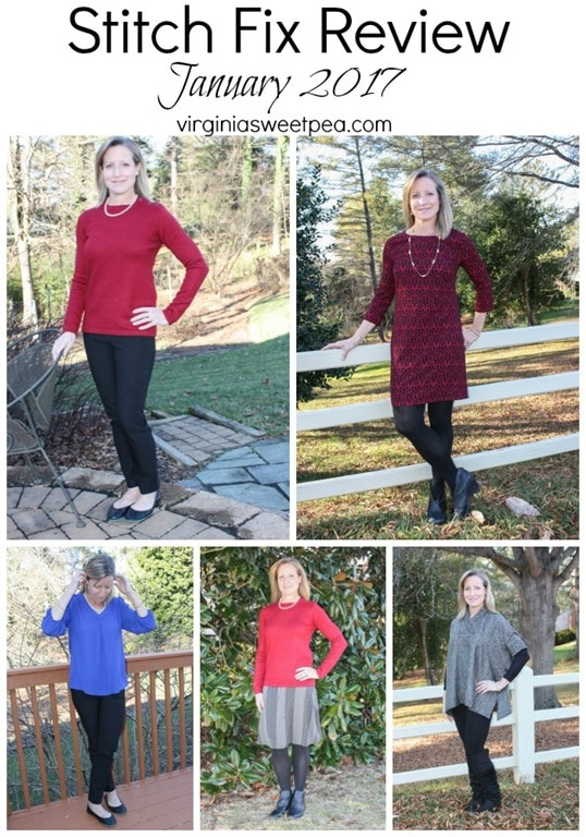 Stitch Fix Review | January 2017 | virginiasweetpea.com