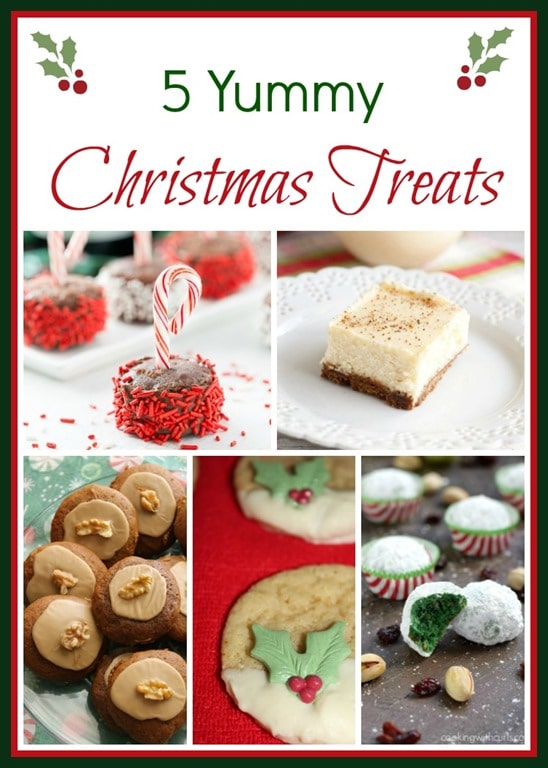 5 Yummy Christmas Treats - virginiasweetpea.com