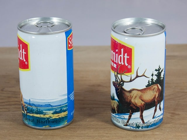 Schmidt Beer Cans from the 1970's
