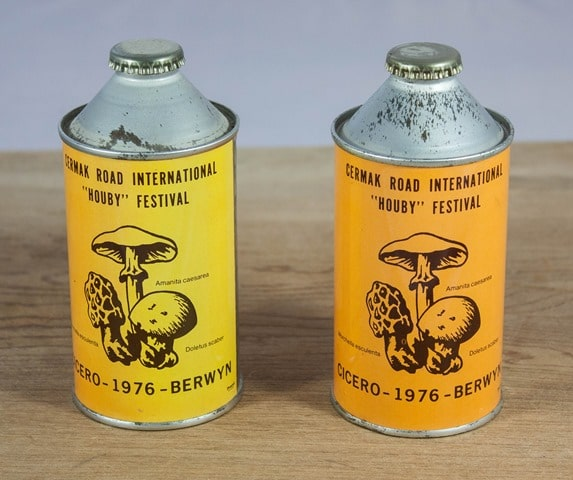 "Cermak Road International ""Houby"" Festival Beer Can from 1976"