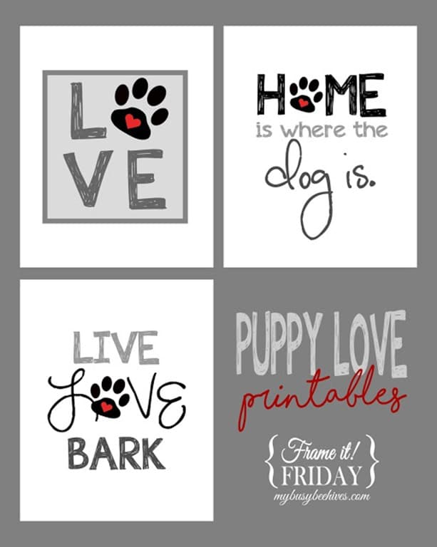 Puppy Love Trio...{Frame it! Friday} poster
