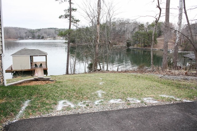 Building a Patio and Walkway at Smith Mountain Lake - Before