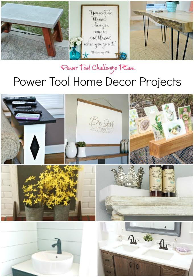 10 Home Decor Projects to Make with Power Tools