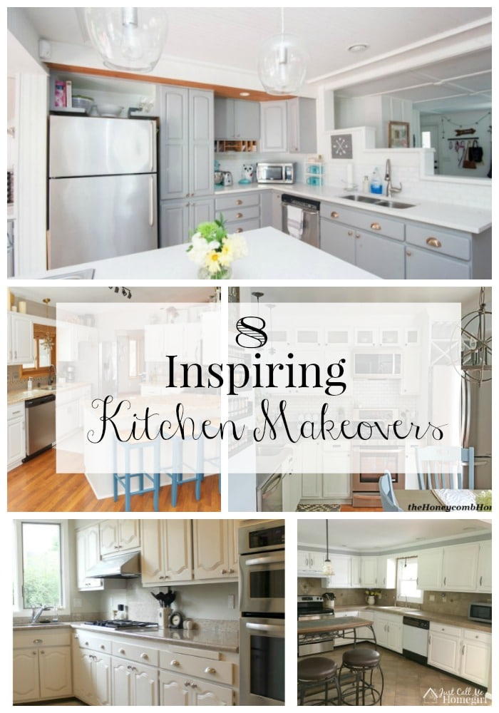8 Inspiring Kitchen Makeovers