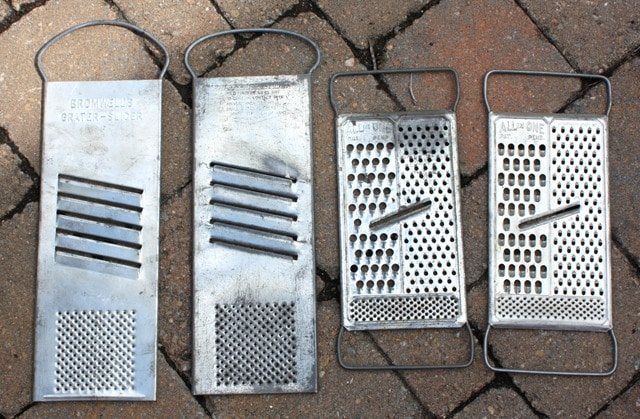 Bromwell's Vintage Grater and All in One Graters
