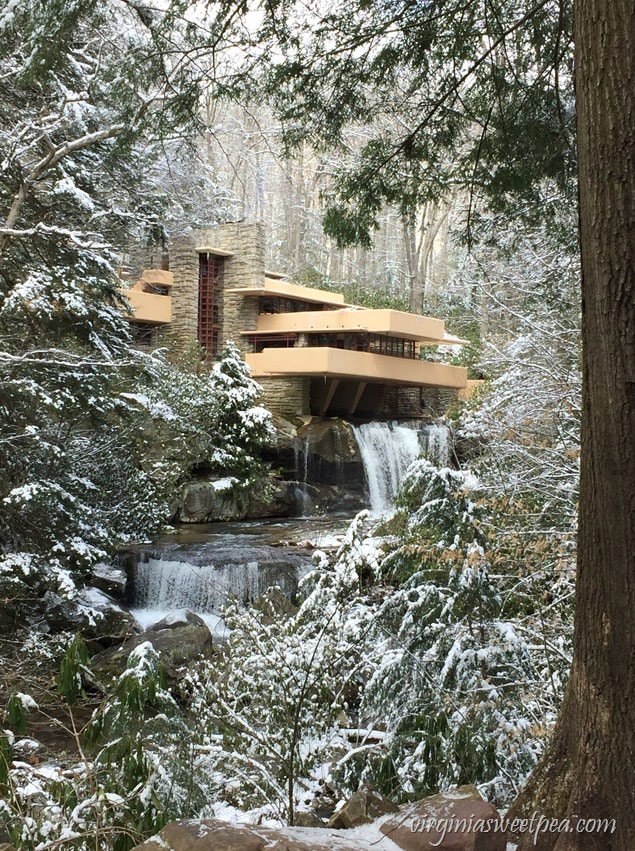 Fallingwater - A Frank Lloyd Wright designed home in PA - virginiasweetpea.com
