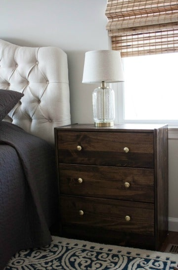 Ikea Rast Chest Used as a Night Stand