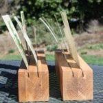 DIY Wood Card Display and Holder