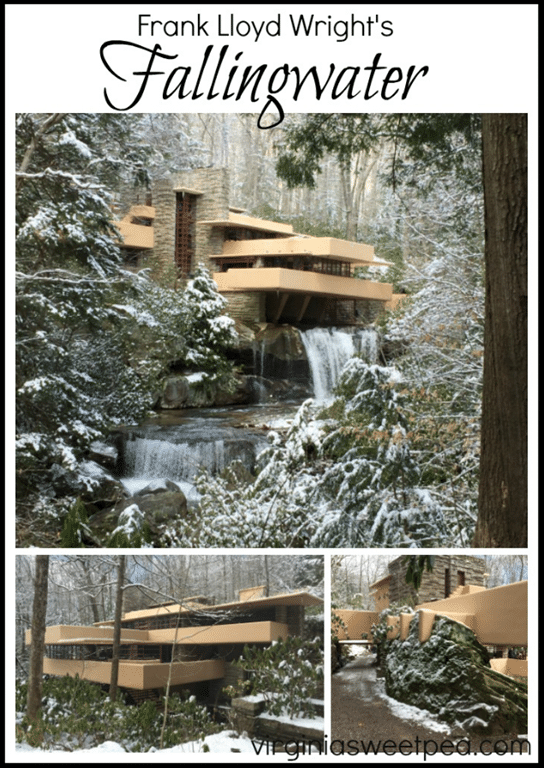 "Fallingwater - A Frank Lloyd Wright Wright designed home in Pennsylvania is a ""must see"" for anyone who appreciates good architecture. virginiasweetpea.com"
