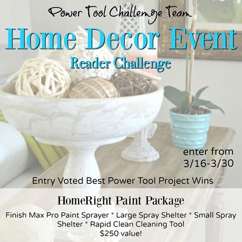 Win a Homeright Paint Package!