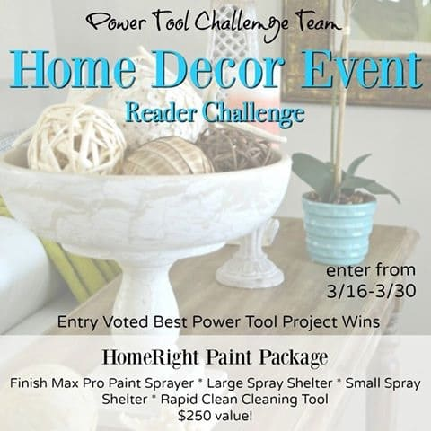 Home Decor Reader Challenge-Enter to Win a Prize Pack from HomeRight!