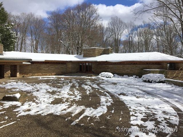 Kentuck Knob - A Frank Lloyd Wright home designed for the Hagan family. virginiasweetpea.com