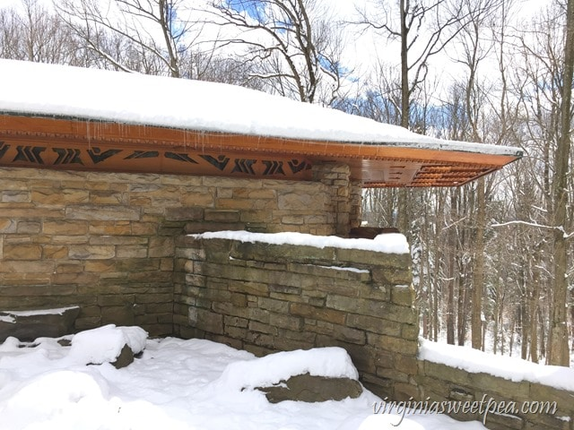 Kentuck Knob - A Frank Lloyd Wright Usonian style home in PA