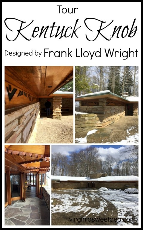 Kentuck Knob- Tour this Frank Lloyd Wright desinged home in PA. virginiasweeptea.com