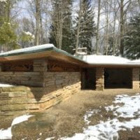 Kentuck Knob is a home in PA built for the Hagan family and designed by Frank Lloyd Wright