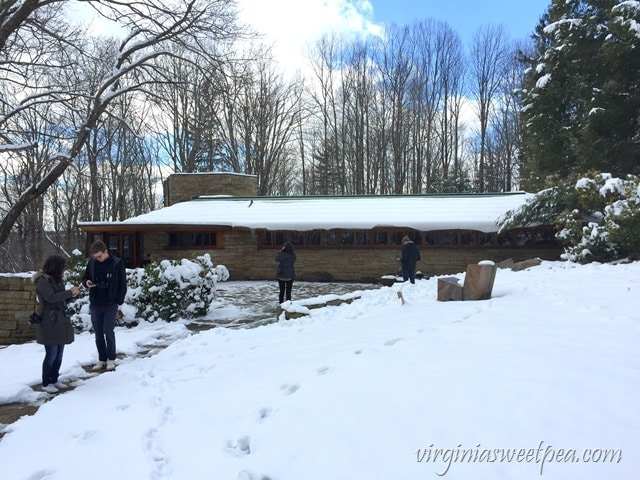 Kentuck Knob - A Frank Lloyd Wright Usonian style home in PA