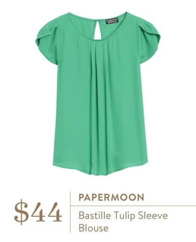 Papermoon Bastille Tulip Sleeve Blouse - Stitch Fix
