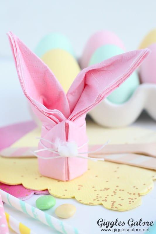 Easter Bunny Napkins
