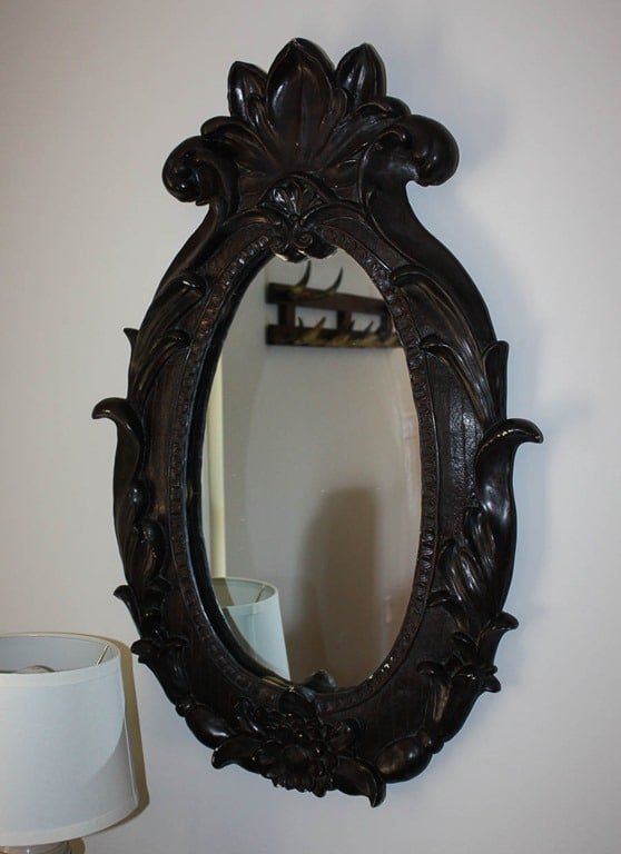 Antique mirror at Smith Mountain Lake