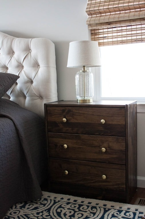 Ikea Rast Chest used an a night stand