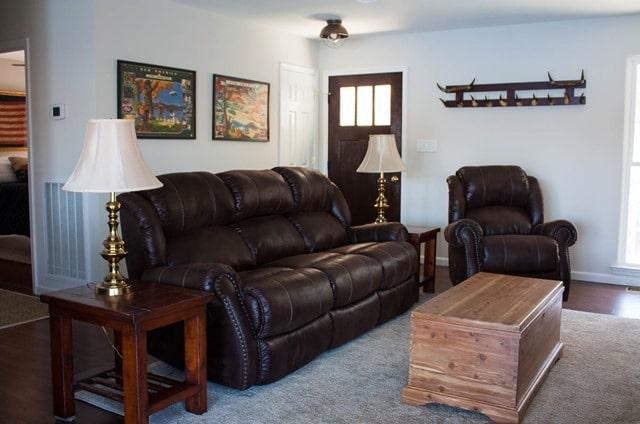 Smith Mountain lake House Living Room