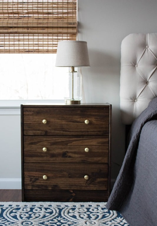 Ikeas Rast Chest Used as a Night Stand