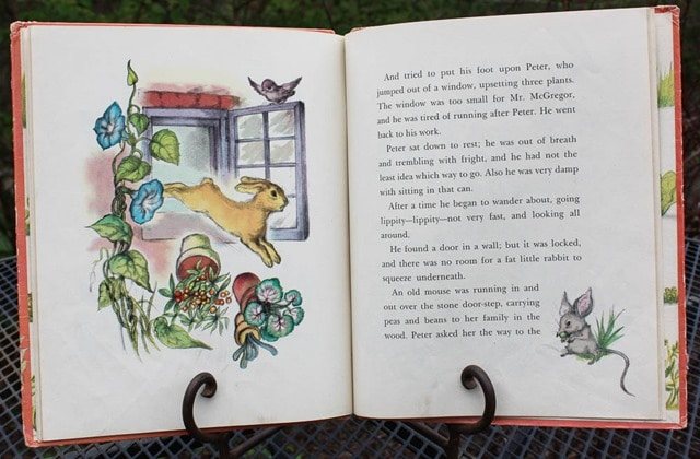 1942 The Tale of Peter Rabbit Book - Want to read the story and see the illustrations? It's all here! virginiasweetpea.com