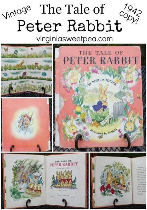 1942 Copy of The Tale of Peter Rabbit