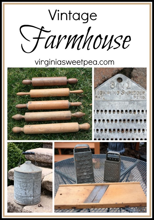 Vintage Farmhouse Items - virginiasweetpea.com