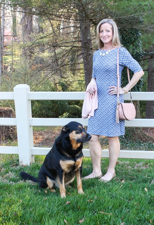 Stitch Fix for March 2017 - Loveappella Miykel Knit Dress with a Market and Spruce Lauderdale Knit Cardigan - virginiasweeptea.com