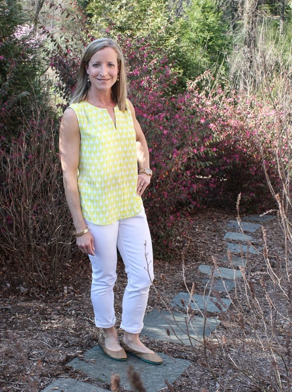 Stitch Fix Review for April 2017 - Pixley Meryl Split Neck Blouse - virginiasweetpea.com