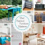 best painted furniture makeovers