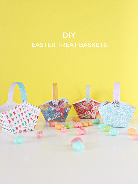 DIY Easter Treat Baskets