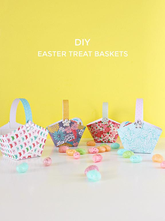 DIY Easter Treat Baskets