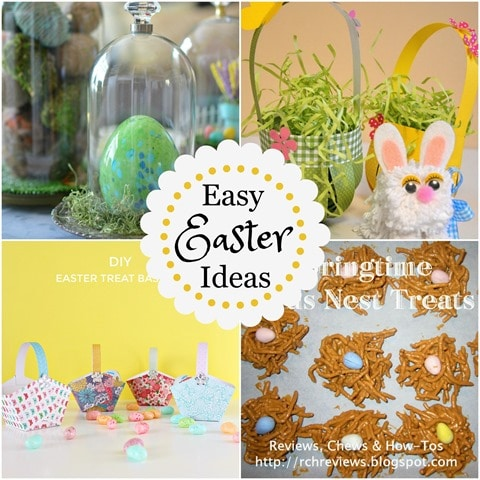 Easy Easter Ideas - Four projects that you can do for Easter! virginiasweetpea.com