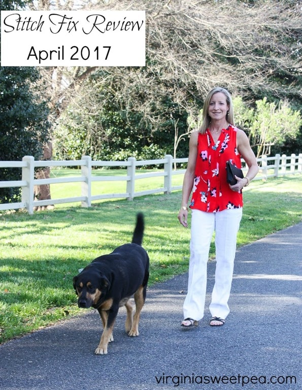 Stitch Fix Review for April 2017 - virginiasweetpea.com