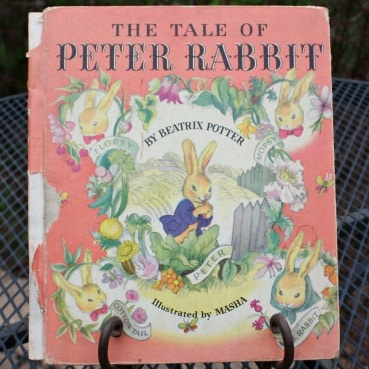 Vintage Copy of The Tale of Peter Rabbit from 1942