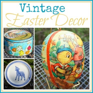 Vintage Easter Decor