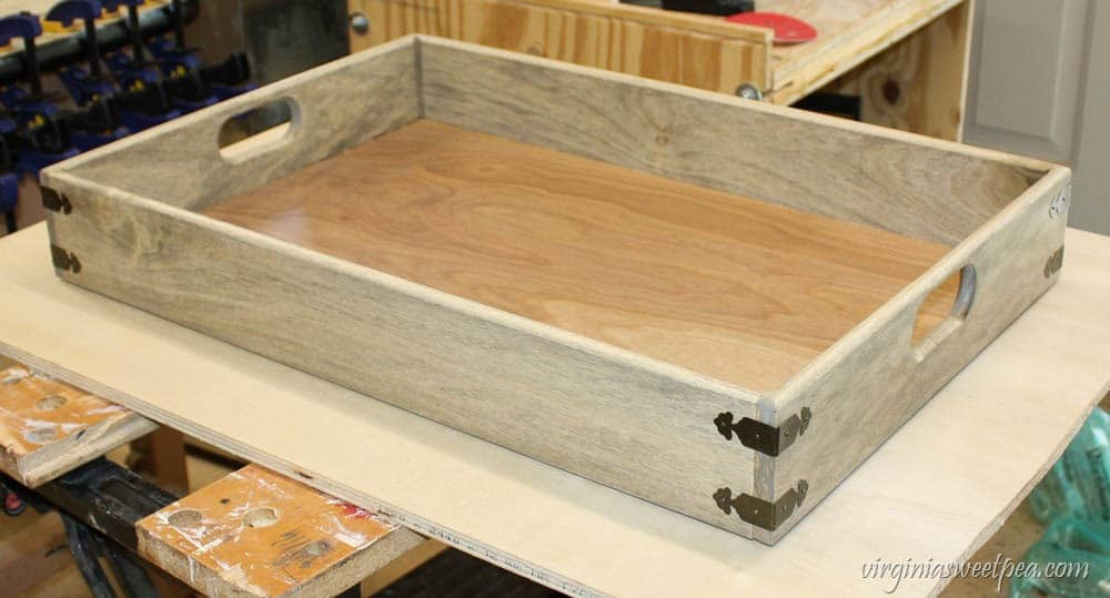 Diy Farmhouse Style Tray Learn How To Make Your Own With A Step By